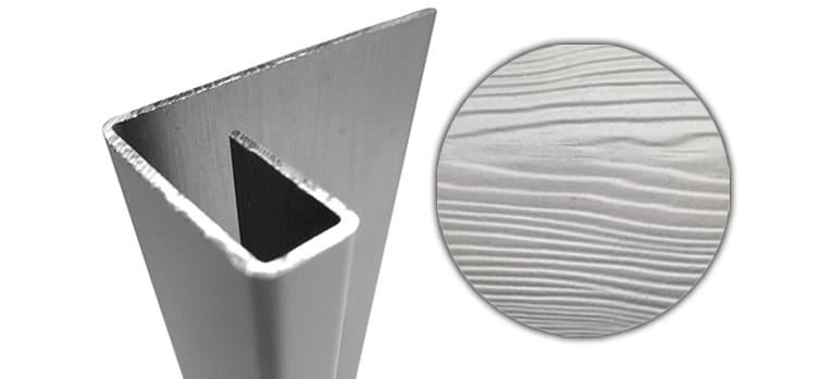Конечный профиль CEDRAL С05 (Серый минерал)
