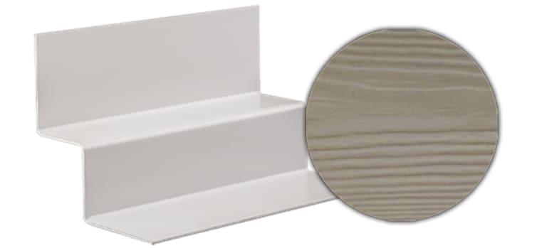 Профиль внутреннего угла CEDRAL С14 (Белая глина)
