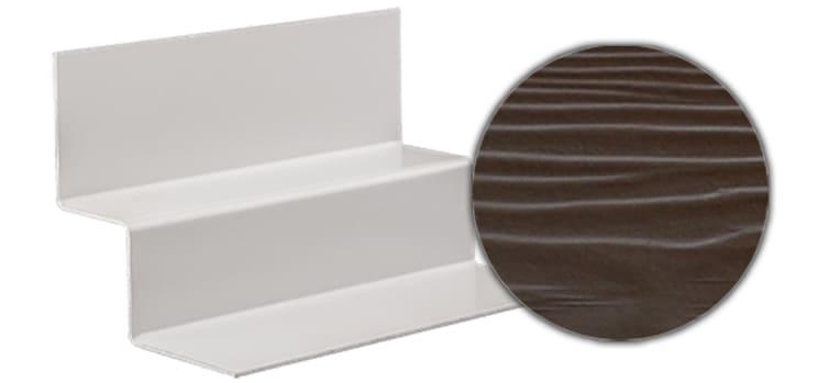 Профиль внутреннего угла CEDRAL С21 (Коричневая глина)