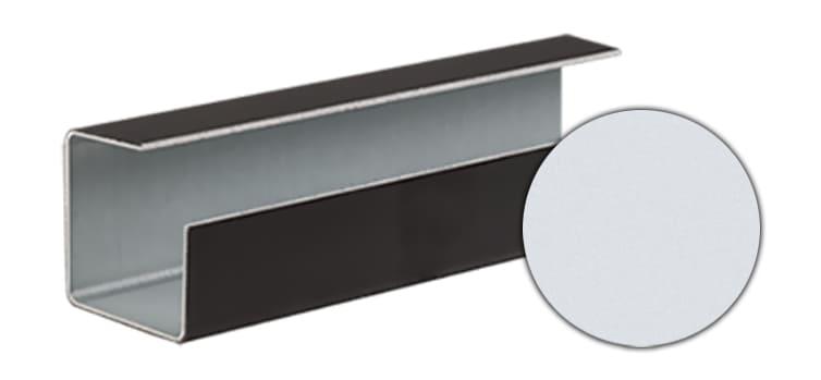 Внешний угловой профиль CEDRAL click С01 (Белый минерал)