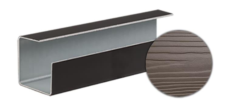 Внешний угловой профиль CEDRAL click С55 (Кремовая глина)