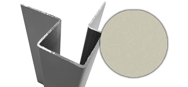 Внешний асимметричный угловой профиль алюм. CEDRAL С08 (Берёзовая роща)