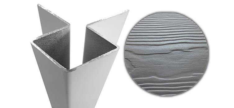 Внешний симметричный угловой профиль алюм. CEDRAL С15 (Северный океан)