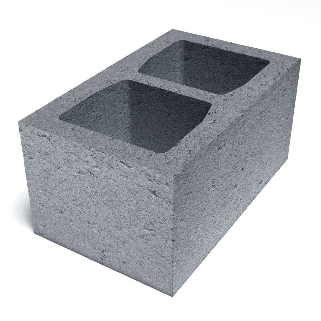 Блок стеновой керамзитобетонный 2-х пустотный  СКК 1.12 ,1.13 КСР-ПР-ПС-39-50-F50-1050