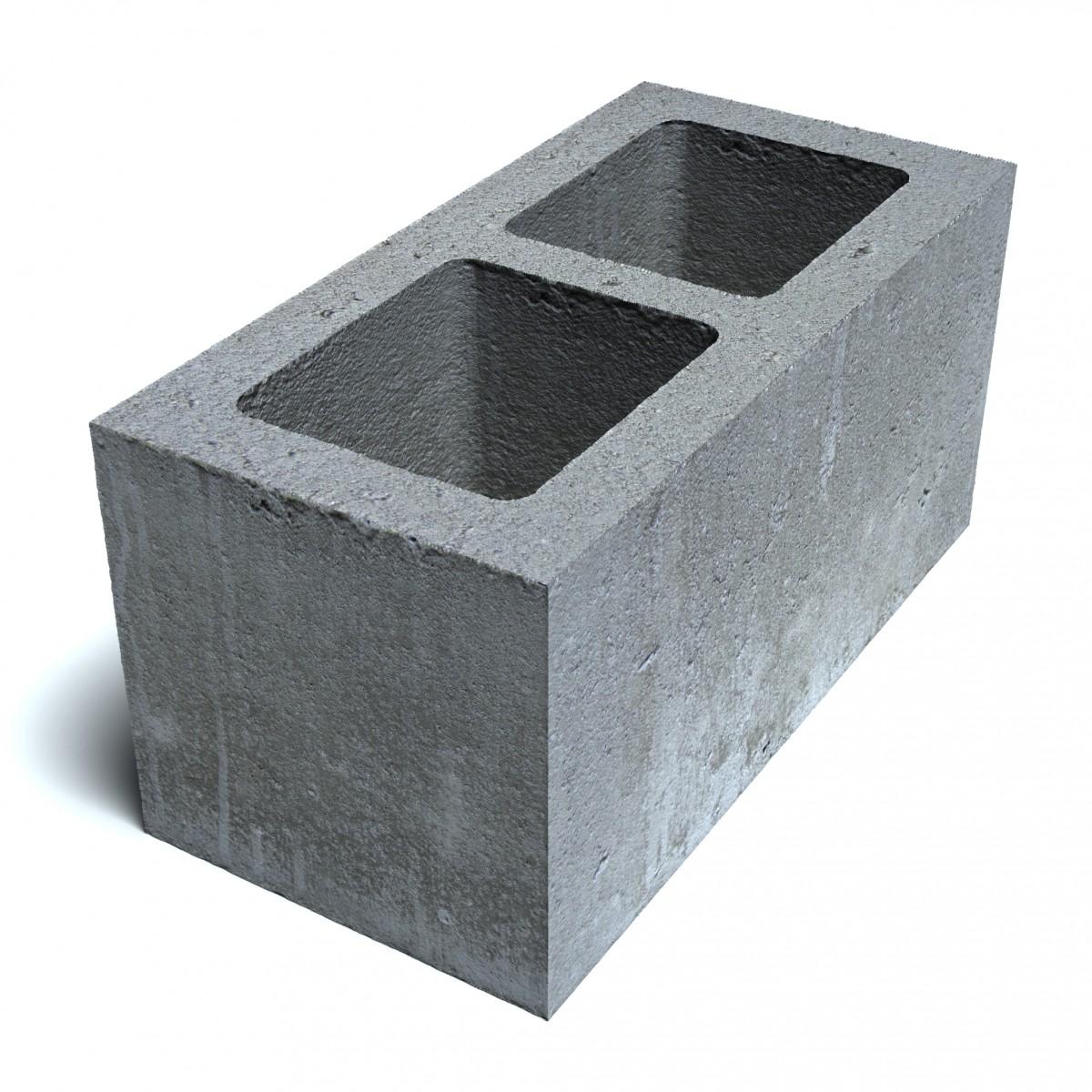 Блок стеновой пескобетонный 2-х пустотный СКM-1.12, 1.13 КСЛ-ПР-ПС-39-100-F50-1210