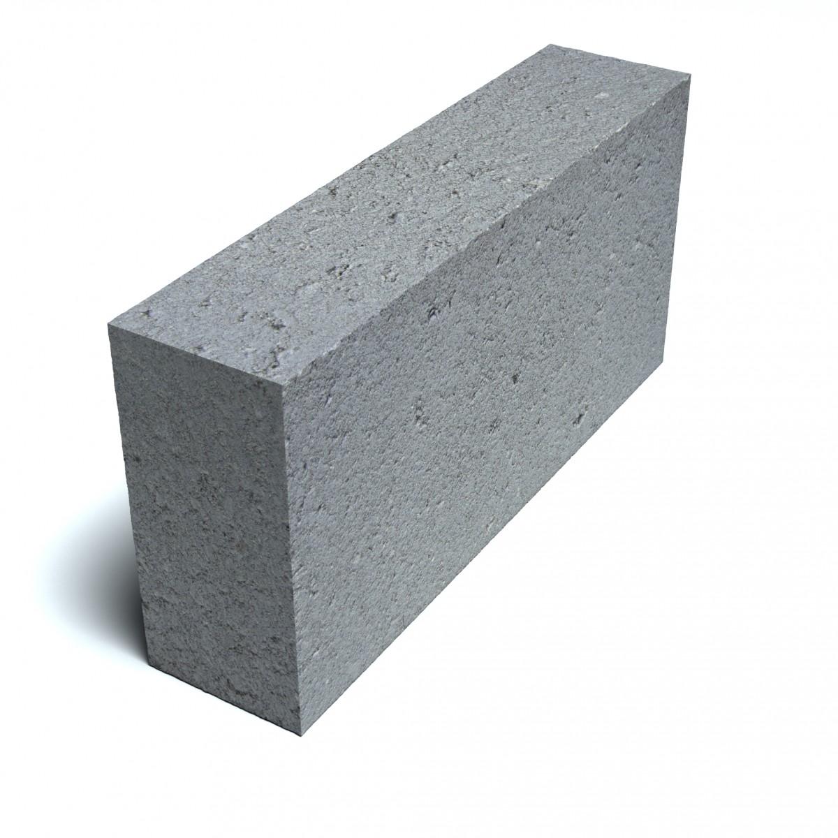 Блок  перегородочный пескобетонный полнотелый СКМ 2 КПР-ПР-ПЛ-39-100-F50-2140  перегородочный