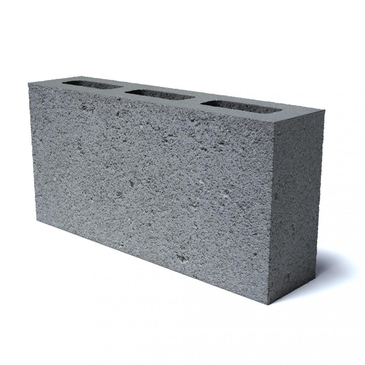 Блок перегородочный пескобетонный  пустотный СКМ 2,1 КПР-ПР-ПС-39-100-F50-1710