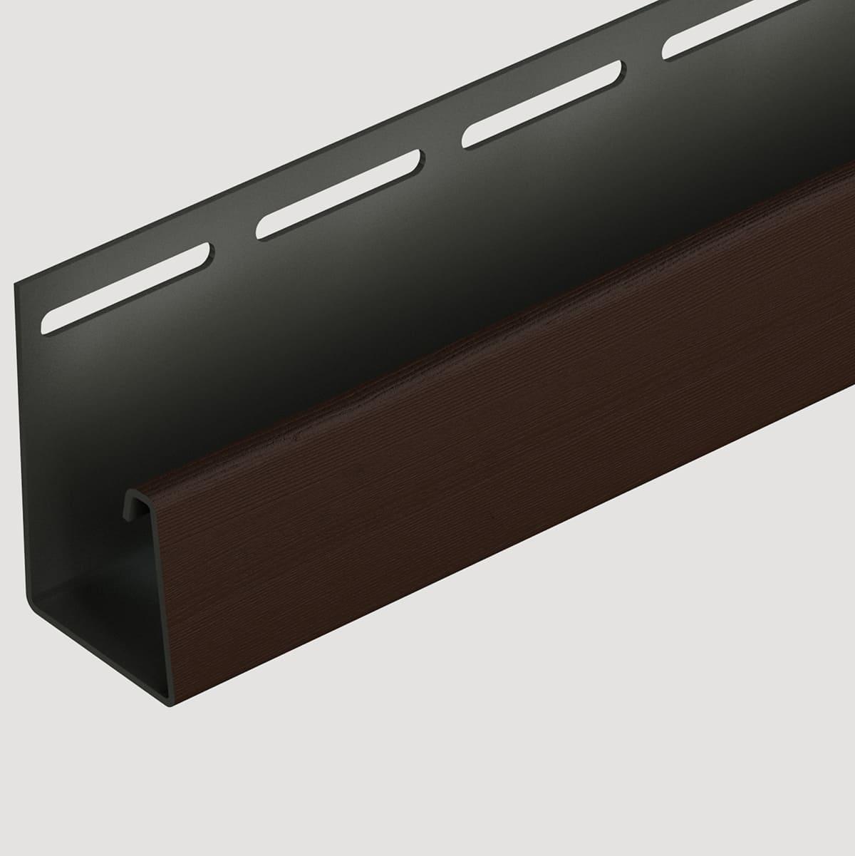 Döcke Фасадный J-профиль 30 мм (Шоколадный)