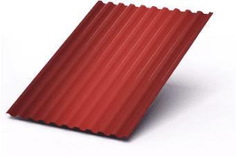 Профнастил C8 в покрытии полиэстер 1200х2000мм, 0,4мм толщина