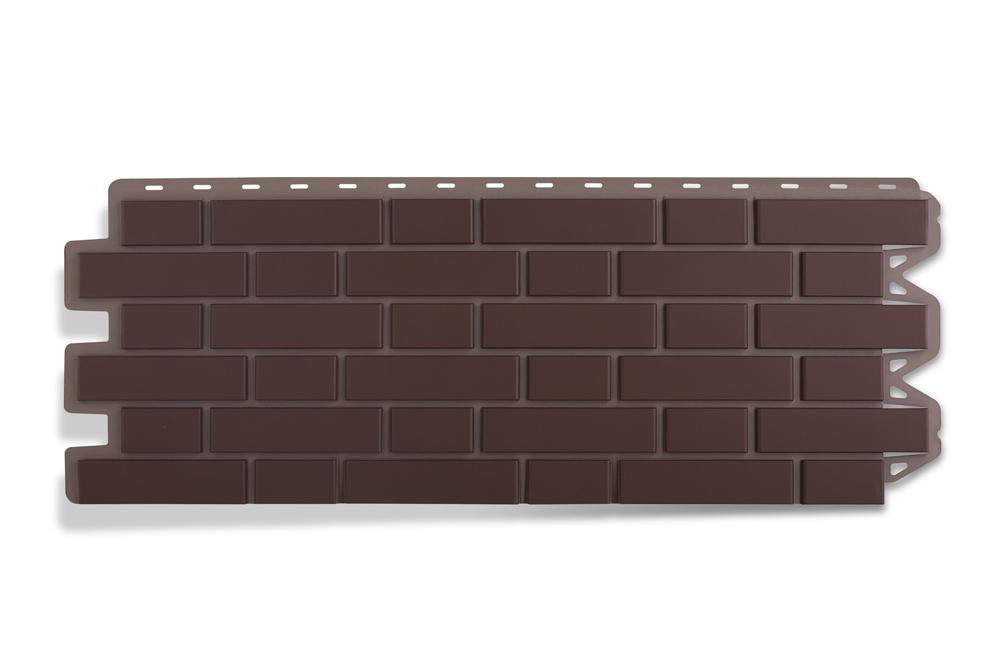 ФП Альта-Профиль Кирпич Клинкерный коричневый 1.22х0.44 м.п.