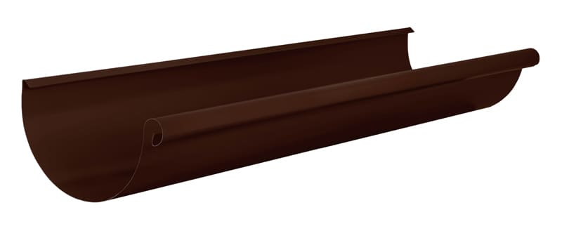 Желоб водосточный АКВАСИСТЕМ d=150 L=3,0 m (RAL 8017)