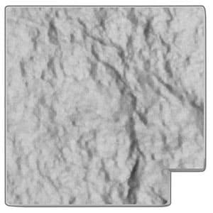 Döcke Угловая накладка для бордюра (Белый)