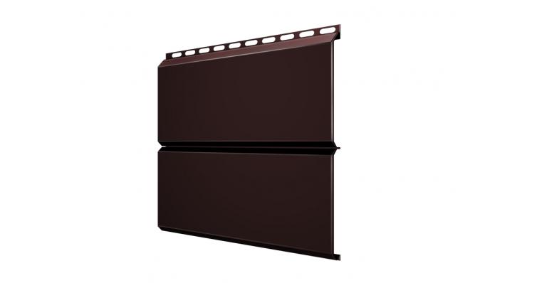ЭкоБрус 0,345 GL 0,45 Drap с пленкой RAL 8017