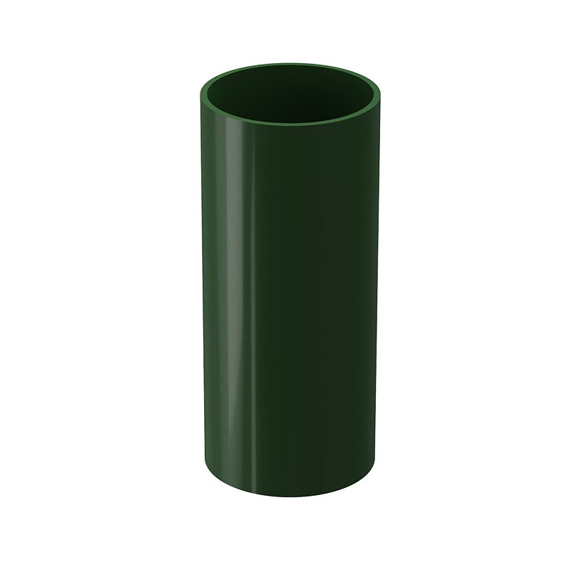 Döcke STANDARD Труба водосточная 80 мм * 2м (Зеленый)