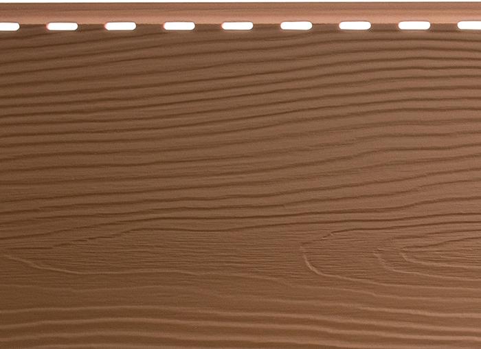 Сайдинг Альта-Борд Элит Светло-коричневый