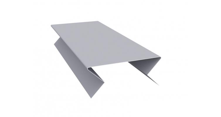 Планка угла внешнего составная нижняя 0,45 PE-foil RAL 7004