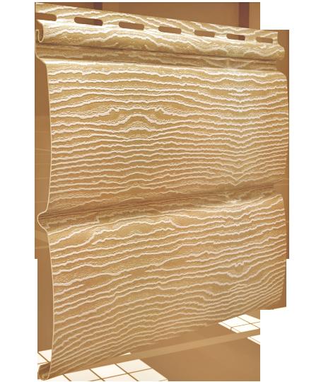 Сайдинг Тимбер-Блок Дуб Золотой 0,23*3,40 м.