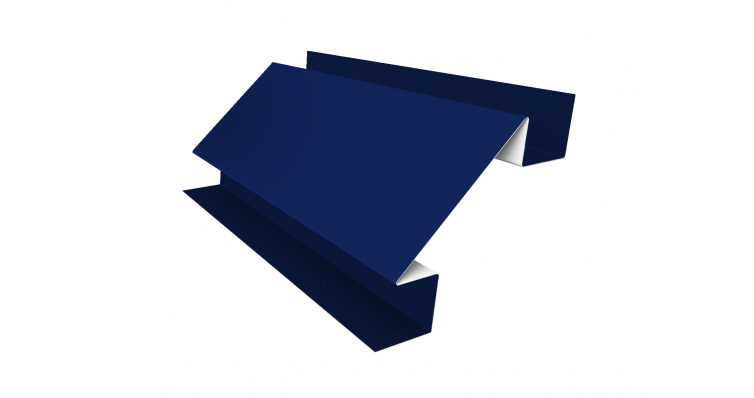 Угол внутренний сложный 75х75 0,5 PE-foil RAL 5002