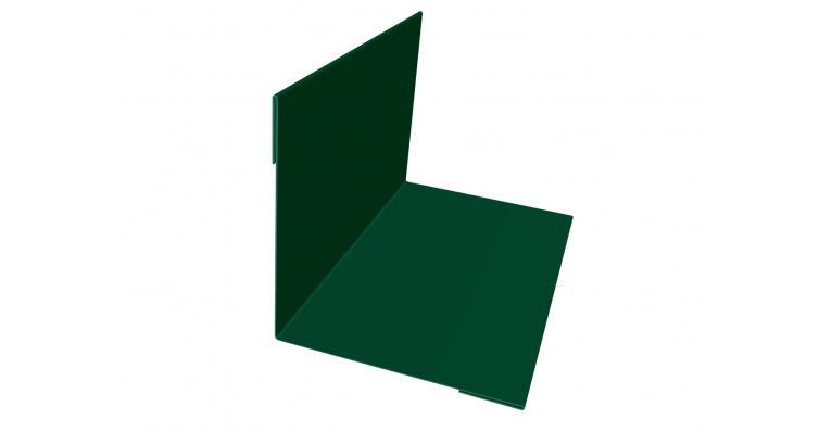 Угол внутренний 50х50 0,5 Velur20 с пленкой RAL 6005