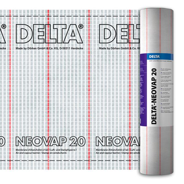 Пароизоляционная армированная пленка DELTA Neovap 20, 75м2