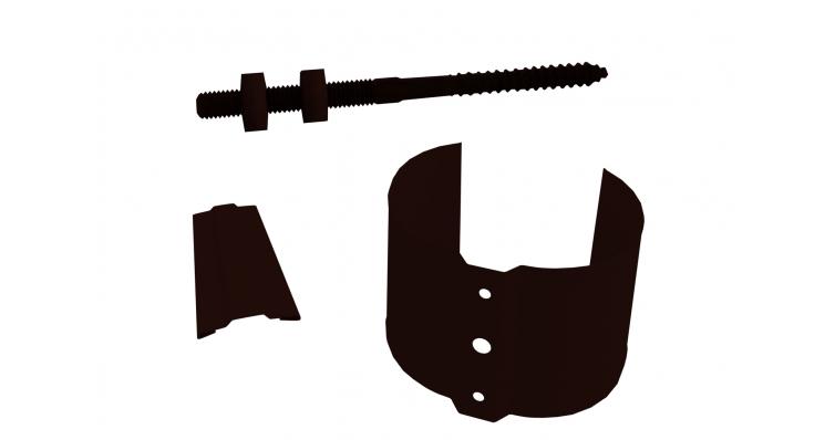 Кронштейн трубы на кирпич, 100мм RR 32