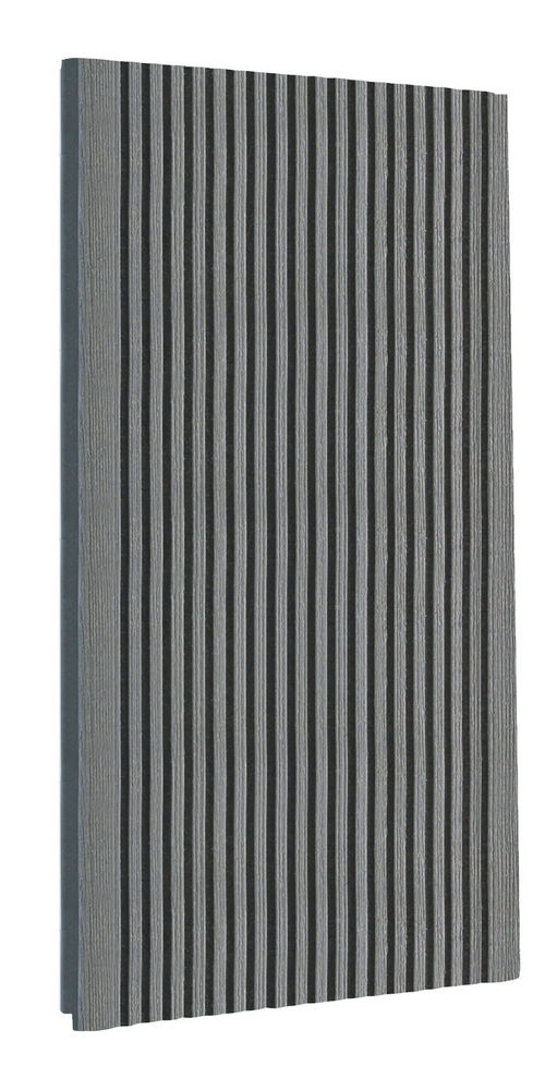 Террасная доска TERRADECK Velvet 152*28*3000м (серый)