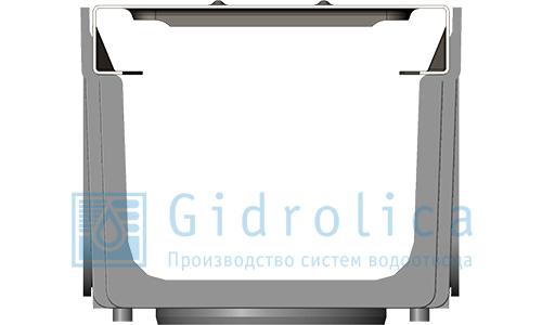 Комплект: лоток пластиковый с решеткой стальной (арт.0806)