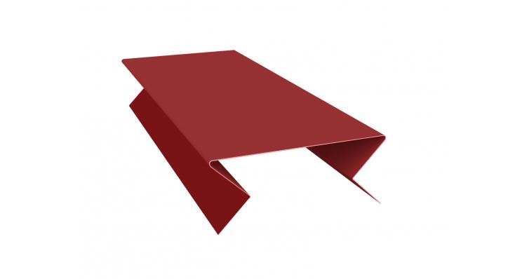 Планка угла внешнего составная нижняя 0,5 Satin с пленкой RAL 3011