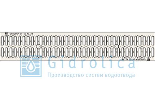 Решетка к лотку (штамп. оцинк) (арт.518)