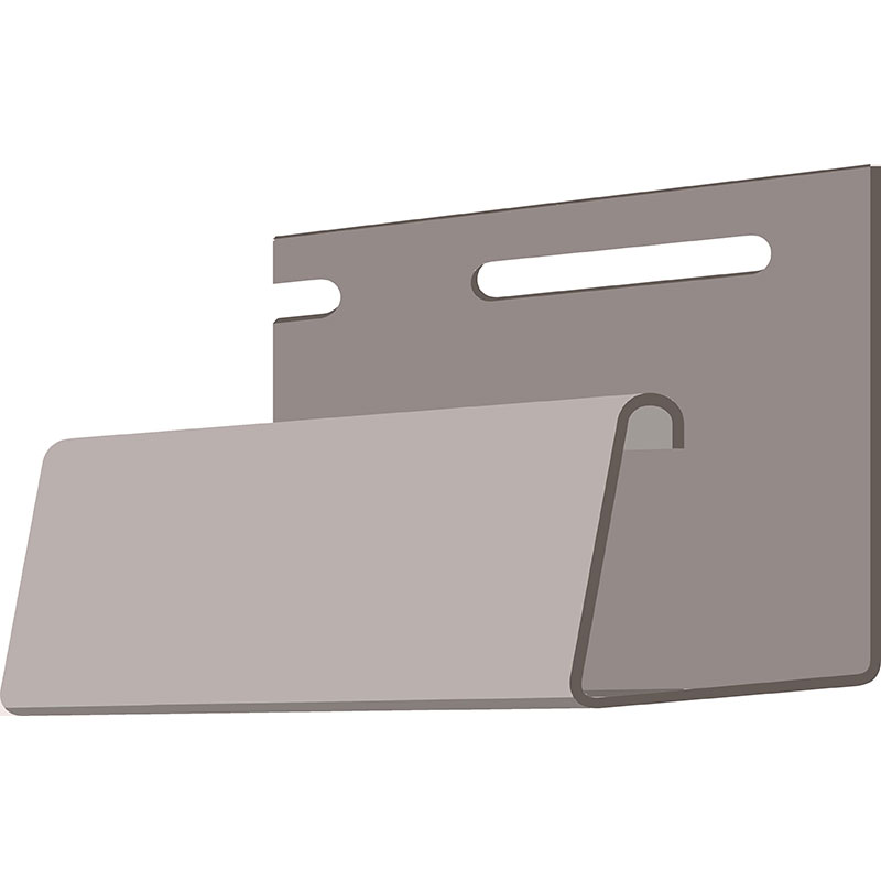 Döcke Фасадный J-профиль 30 мм (Дымчатый)