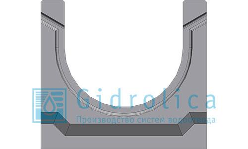 Лоток водоотводный бетонный 140*125 (арт.13801)