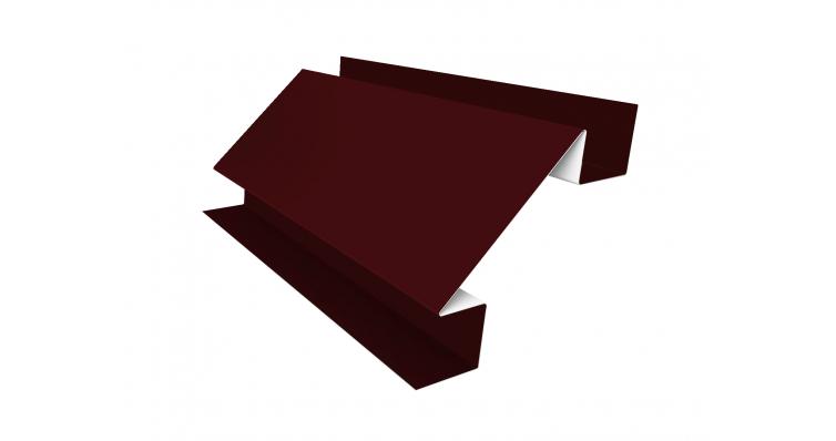 Угол внутренний сложный 75х75 0,45 PE с пленкой RAL 3005