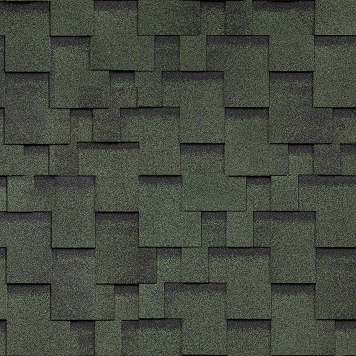 Гибкая черепица Финская Шинглас Аккорд (зеленый)