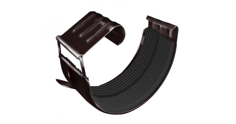 Соединитель желоба GL 125 мм RAL 8017