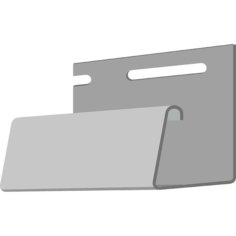 Döcke Фасадный J-профиль 30 мм (Агатовый)