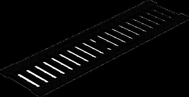 Решетка к лотку (ячеистая, чугун) (арт.507)