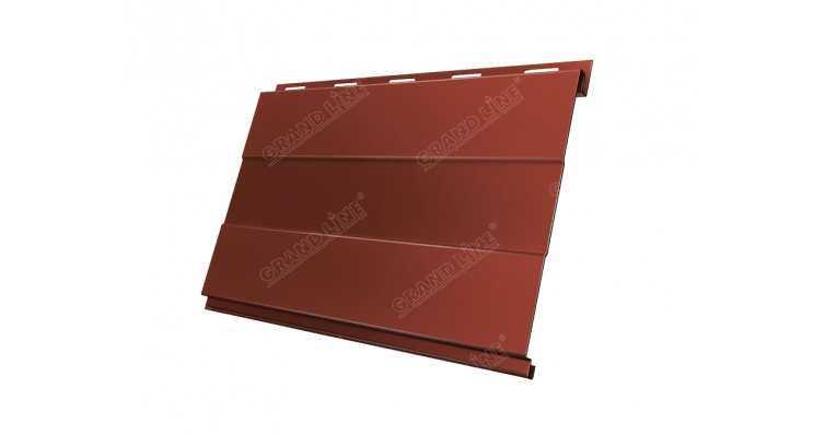 Вертикаль 0,2 GL prof 0,5 Quarzit matt с пленкой RAL 8004
