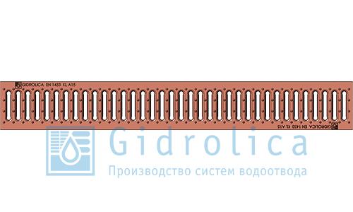 Решетка водоприемная штампованная медная (арт.502)