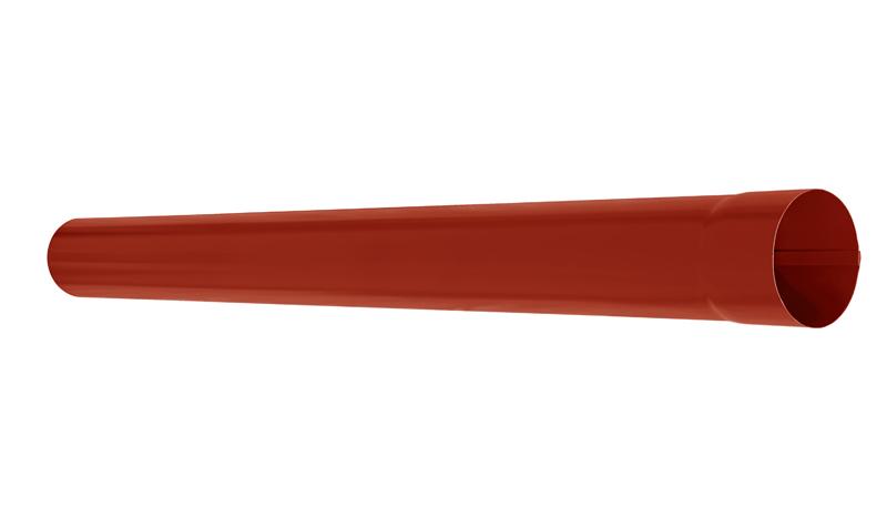 Труба водосточная АКВАСИСТЕМ d=90 L=1,0 m RR 29
