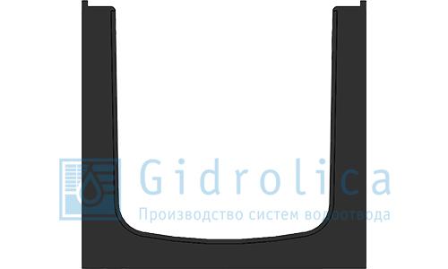 Лоток водоотводный пластиковый 196*185/161 DN150 (арт.816)