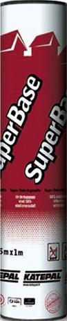 Подкладочный ковер Katepal SuperBase (15м) с самокл. слоем