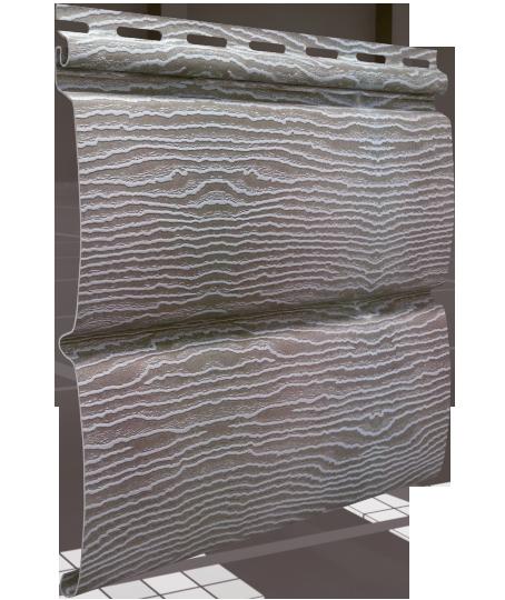 Сайдинг Тимбер-Блок Дуб Серебристый 0,23*3,40 м.