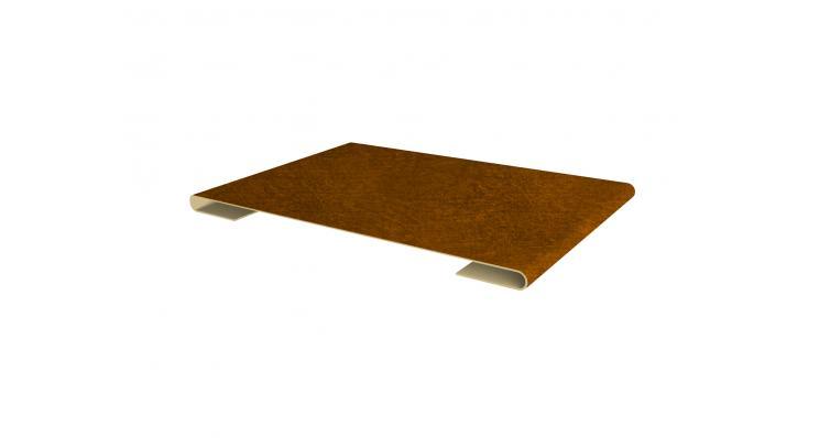 Планка стыковочная 0,45 Print Twincolor-foil Golden Dub