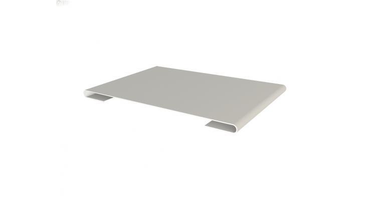 Планка стыковочная 0,45 PE-foil RAL 9002
