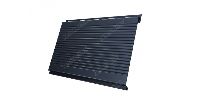Вертикаль 0,2 GL gofr 0,5 Quarzit matt с пленкой RAL 7024