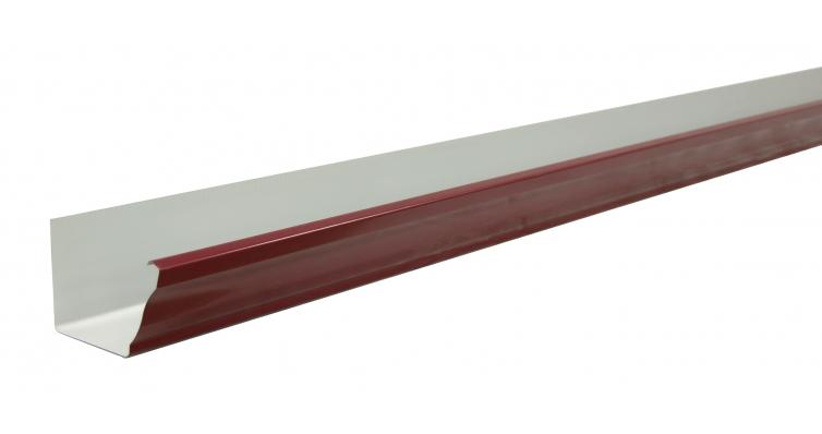 Желоб прямоугольный 127мм PE RAL 3005 3м