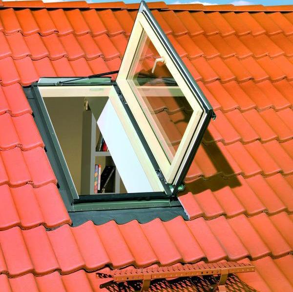 Мансардное окно FWL U3 94*118 ручка слева