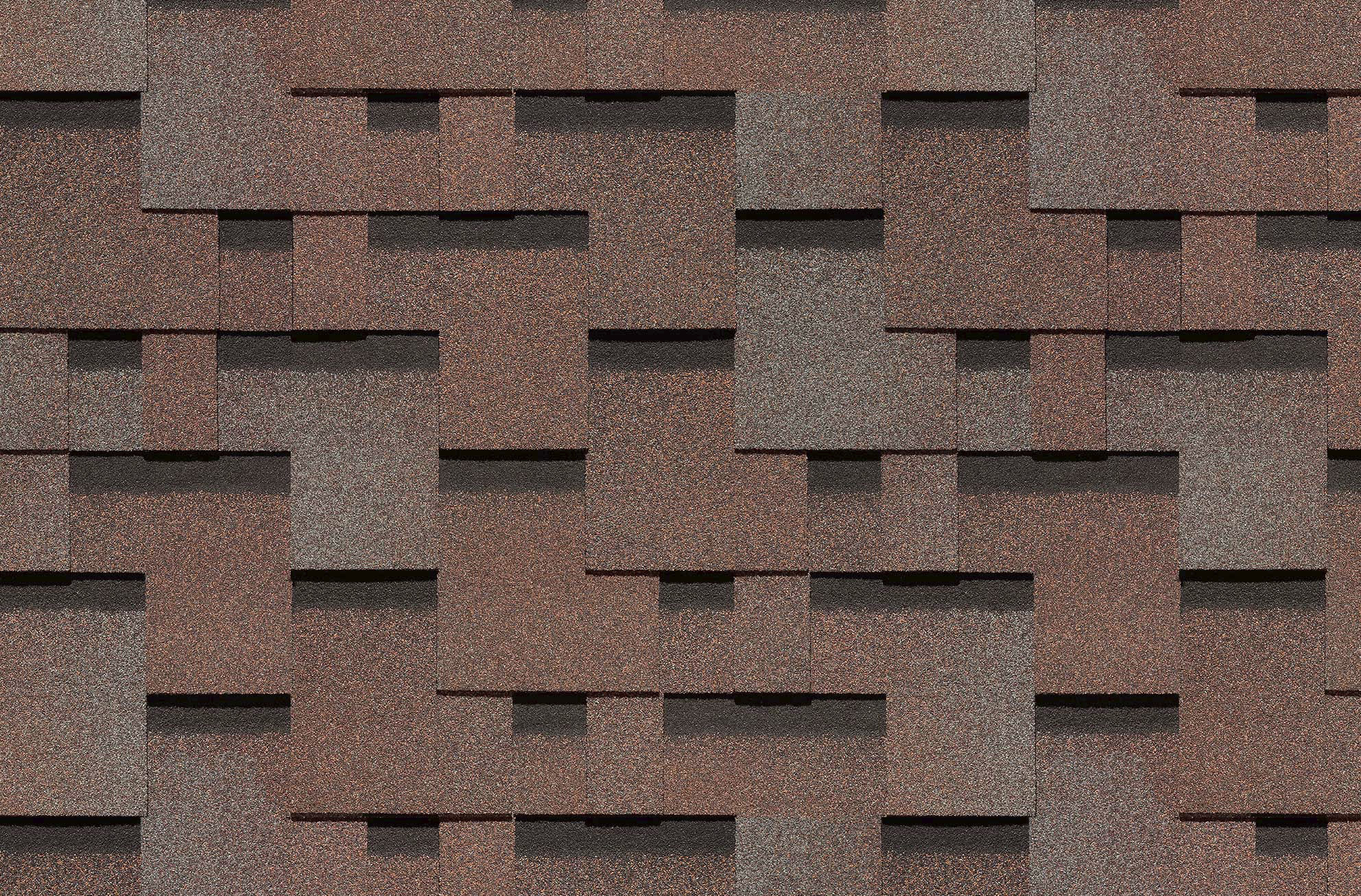 Гибкая черепица Döcke PIE PREMIUM/ ГЕНУЯ/ Тирамису